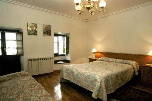 habitación doble 1 casa rural trabaku goiko en Vizcaya
