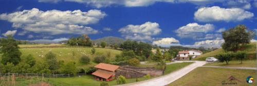 paisaje 5 agroturismo Caserío Garaizar en Bizkaia