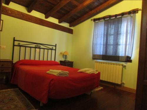 double room 4 farm house kerizara in Bizkaia