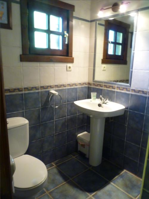 bathroom 2 farm house kerizara in Bizkaia