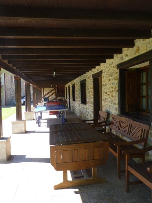 terrace farm house kerizara in Bizkaia