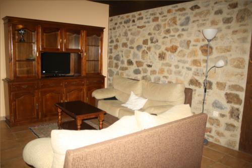 living room farm house kerizara in Bizkaia