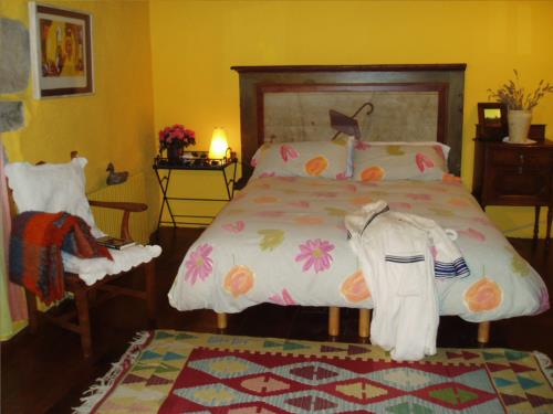 double room 1 farm house guikuri in Alava