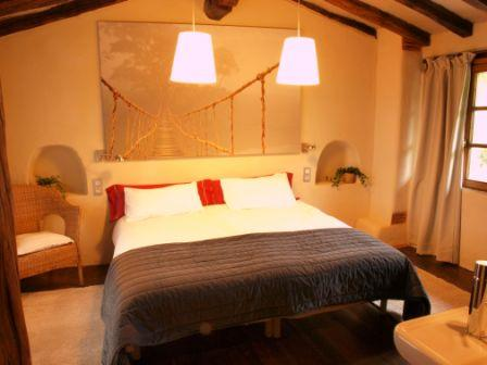 double room farm house guikuri in Alava