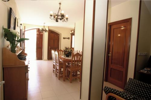 dining room country house arribeiti zarra in Bizkaia