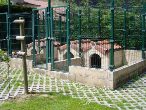 Exterior casa rural Erdikoetxe en Bizkaia