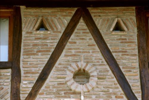 detail farm house aristieta in Bizkaia