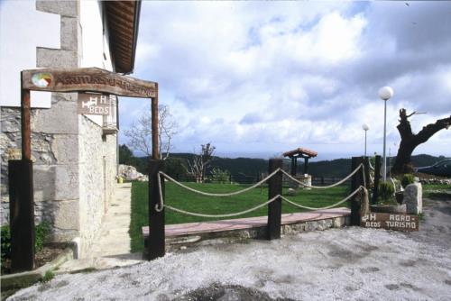 outside country house endeitxe in Bizkaia