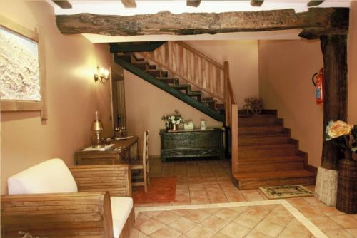 inside farm house endeitxe in Bizkaia
