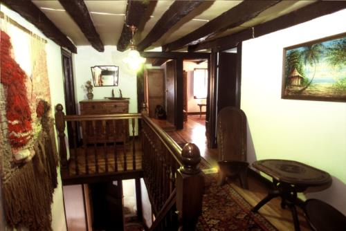 inside country house monte baserria in Bizkaia