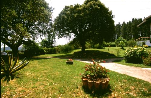 jardín casa rural monte baserria en Vizcaya