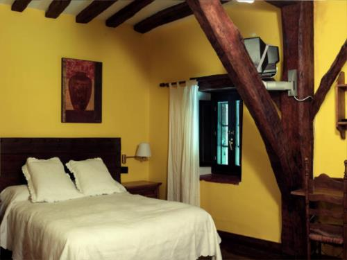habitación doble 2 casa rural sagasti zahar en Alava