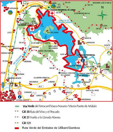 ruta verde  casa rural sagasti zahar en Alava