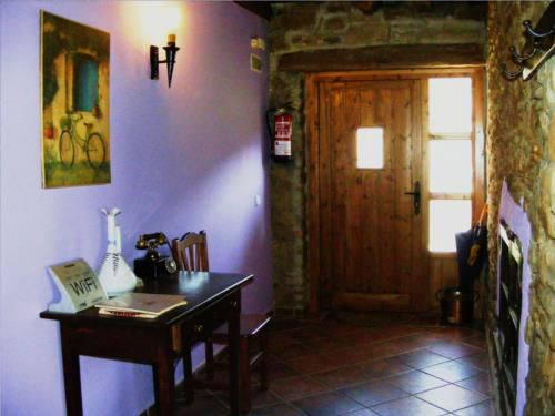 inside country house altzuste in Bizkaia