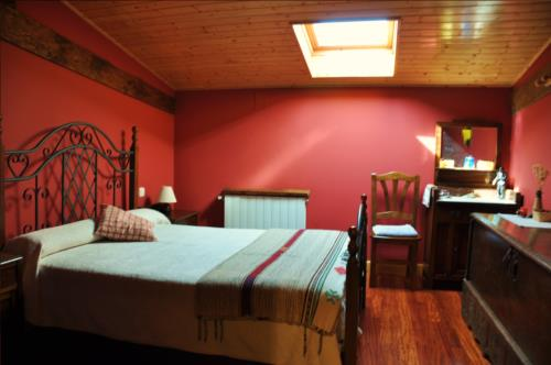 double room 2 country house altzuste in Bizkaia