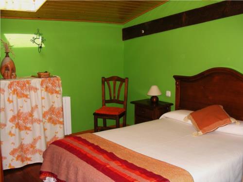 habitación doble 3 casa rural altzuste en Vizcaya