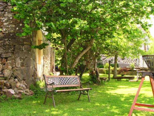 jardin 1 casa rural altzuste en Vizcaya