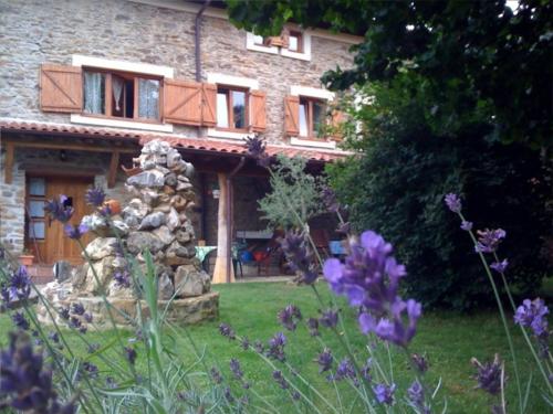jardin casa rural altzuste en Vizcaya
