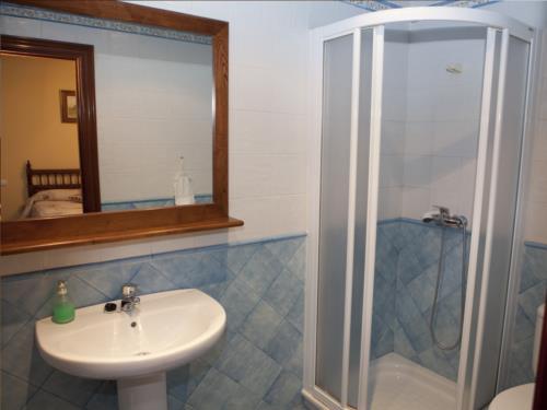 baño casa rural goikoetxe en Vizcaya