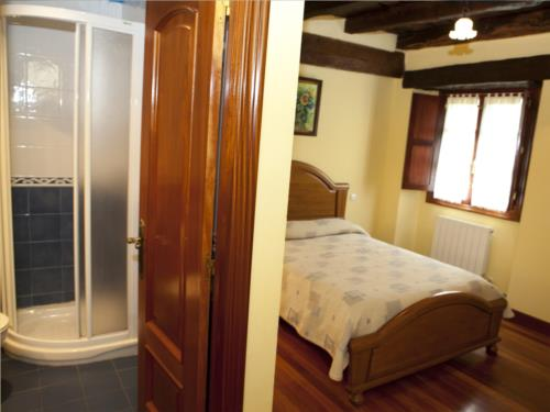 habitación doble 2 casa rural goikoetxe en Vizcaya