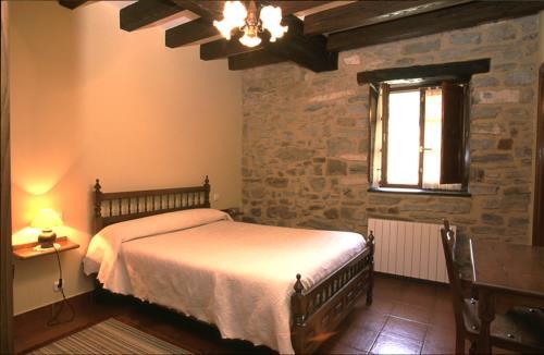 habitación doble casa rural goikoetxe en Vizcaya