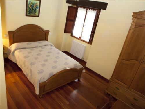 habitación doble 4 casa rural goikoetxe en Vizcaya