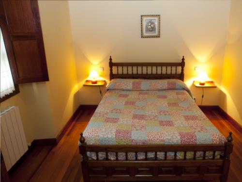 habitación doble 7 casa rural goikoetxe en Vizcaya