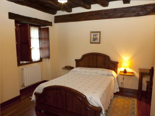 habitación doble 8 casa rural goikoetxe en Vizcaya
