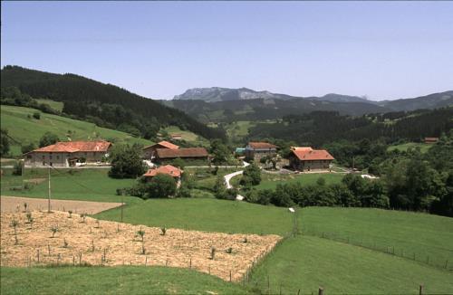 entorno casa rural goikoetxe en Vizcaya
