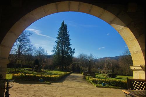 Jardín del Agroturismo Etxebarri
