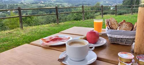 Desayuno exterior