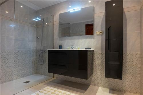 Bathroom country house begoña in Gipuzkoa