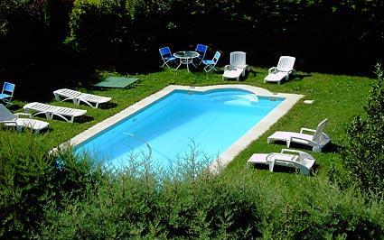 piscina agroturismo señorío de las viñas en Alava