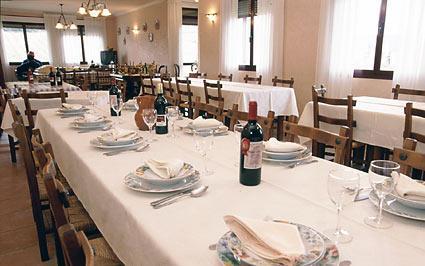 comedor agroturismo señorío de las viñas en Alava