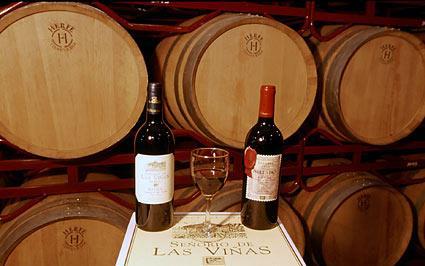 vino agroturismo señorío de las viñas en Alava