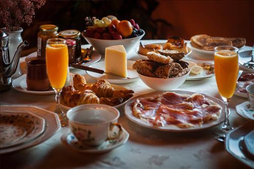 Desayunos  con productos ecolologicos de la zona