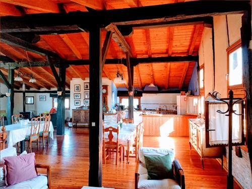 living room farm house ondarre in Gipuzkoa