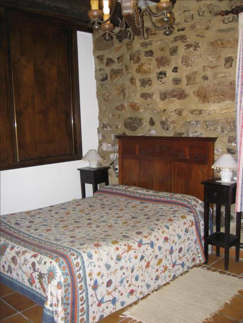 habitación doble casa rural Mitarte Garai en Gipuzkoa