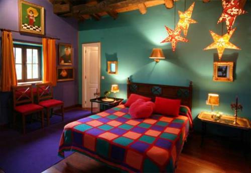 habitación doble 2 casa rural Landarte en Gipuzkoa