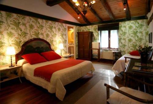habitación doble 3 casa rural Landarte en Gipuzkoa