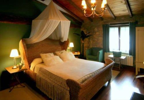 habitación doble 5 casa rural Landarte en Gipuzkoa