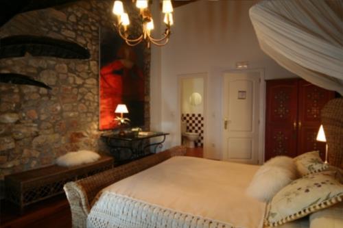 habitación doble 6 casa rural Landarte en Gipuzkoa