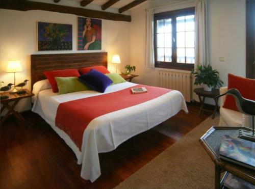 habitación doble 4 casa rural Landarte en Gipuzkoa