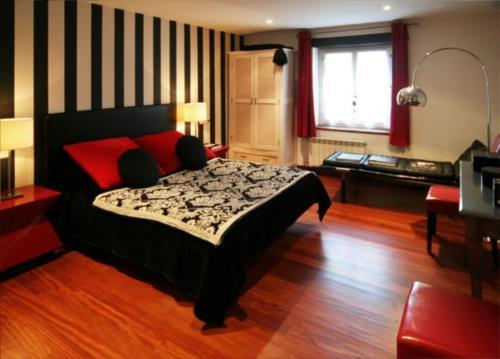 habitación doble casa rural Landarte en Gipuzkoa