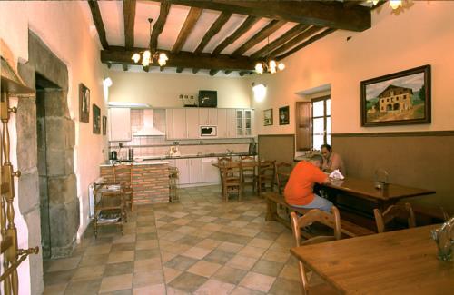 kitchen farm house murueta baserria in Bizkaia