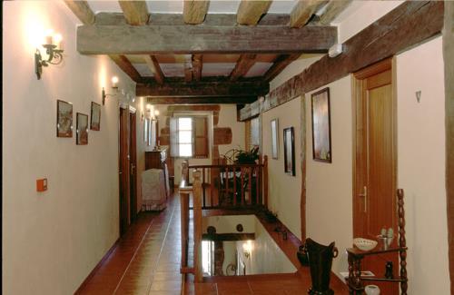 inside farm house murueta baserria in Bizkaia