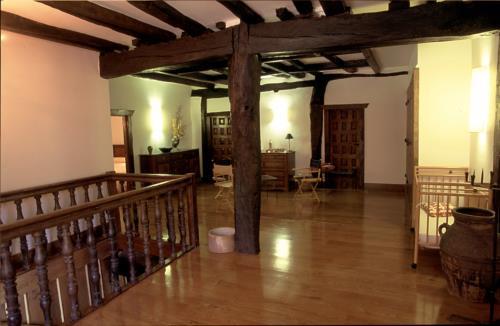 inside country house endara in Gipuzkoa