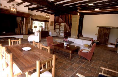 living room country house endara in Gipuzkoa