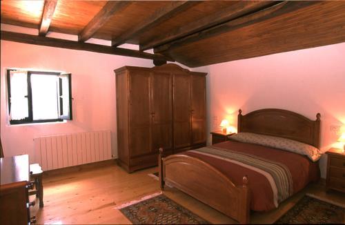 habitación doble casa rural astorki goikoa en Vizcaya