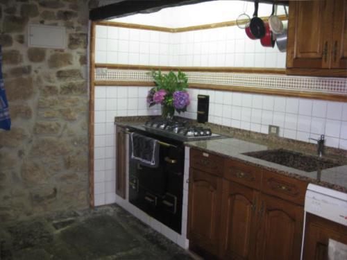 cocina 1 casa rural imitte en Vizcaya